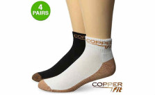CopperFit™ Unisex Moisture Wicking Antibacterial Sport Socks