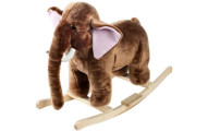 Happy Trails Plush Rocking Mammoth