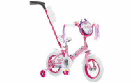 Schwinn Girls' Petunia 12-inch Steerable Bike