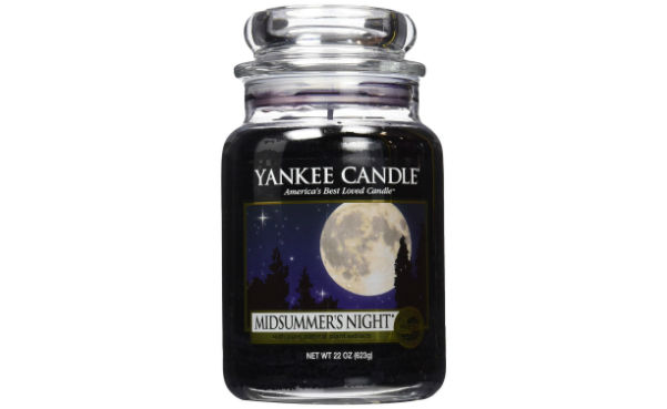 Win a Roll over image to zoom in Yankee Candle Midsummer's Night Large Jar Candle