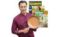 Gotham Steel 9.5 Inch Fry Pan PLUS Magazine Subscription
