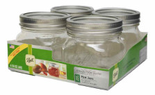 Loew-Cornell Ball Wide Mouth Canning Jars