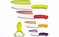 Nuvita 9-Piece Professional Classic Ceramic Knife Set