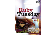 Win a $50 Ruby Tuesday Gift Card