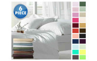 Ultra-Soft Egyptian Comfort Double-Brushed Sheets
