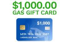 $1,000 Gas Card Giveaway