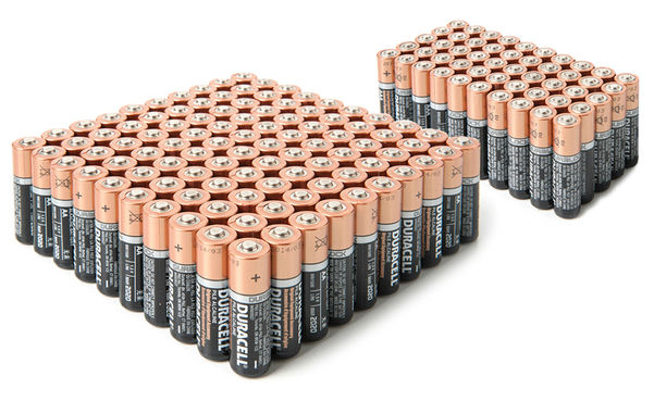 Win a Duracell Batteries 80-pack