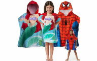 Kids Hooded Towel Poncho