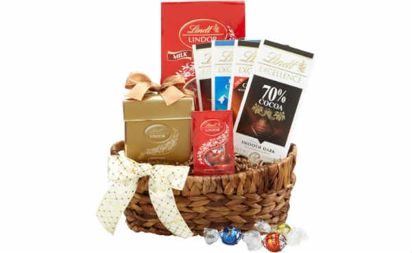 Lindt Chocolate Classic Gift Basket