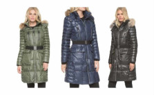 Marc New York by Andrew Marc Women's Addy Block Belted Puffer Coat