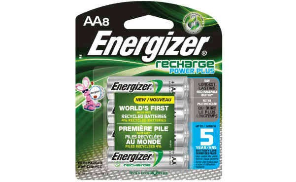 Energizer Power Plus AA Rechargeable Batteries