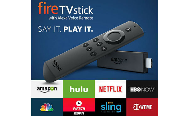 Win an Amazon Fire Stick with Alexa Voice Remote