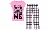Emme Jordan Cotton 2-Piece Ladies Pajama Set