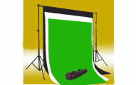 Photography Backgrounds with Support System and Carry Bag