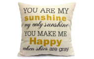 Win a You Are My Sunshine Pillow