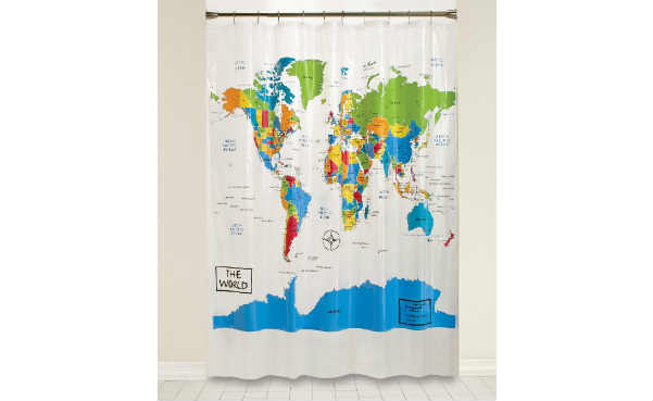 The World Peva Shower Curtain
