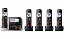 Panasonic KX-TG7875S Link2Cell Bluetooth Cordless Phone