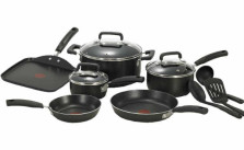 T-fal Signature Nonstick Thermo-Spot Heat Indicator 12-piece Cookware Set