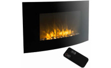 XL Large 1500W Electric Wall Mount Fireplace