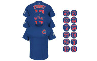 2016 Chicago Cubs Men's Blue Jersey T-Shirt