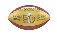 Wilson Super Bowl Golden Anniversary Limited Edition Football