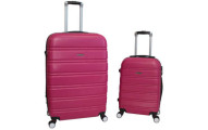 World Traveler Bristol 2-Piece Hardside Expandable Spinner Luggage Set