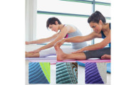 Yoga Lifestyle Yoga and Fitness 6mm Reversible Mat