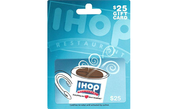 Win a $25 IHOP Gift Card