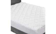 Bamboo Mattress Pad with Fitted Skirt