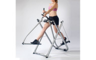 Folding Elliptical Glider with Pedometer