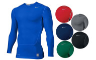 Nike Men's Pro Combat NPC Core 2.0 LS Compression Top Shirt