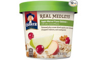 Quaker Real Medleys Oatmeal - Apple Walnut