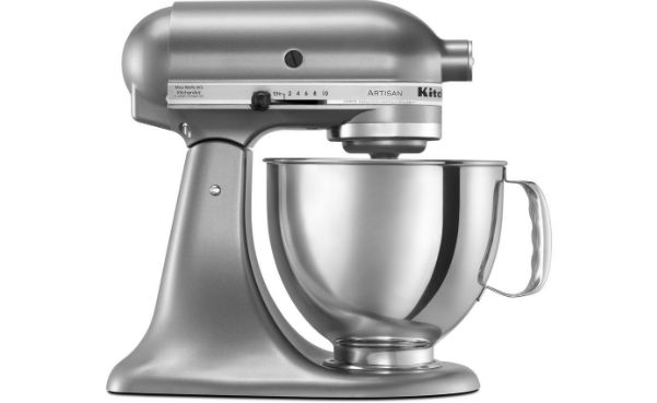 Win a KitchenAid Stainless Steel Mixer