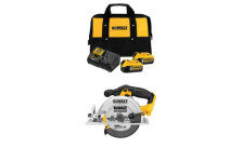 DEWALT Starter Kit with 2 Batteries and Circular Saw