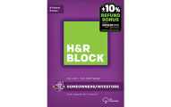 H&R Block Tax Software Deluxe