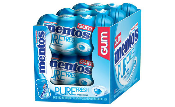 Mentos Sugar-free Gums 50-Count (Pack of 6)