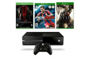 Microsoft Xbox One 500GB Gaming Console with 3 Games