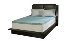 Simmons Curv 3 Memory Foam Mattress Topper