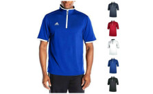adidas Men's CLIMALITE Shockwave Quarter Zip Jacket Shirt