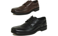 AlpineSwiss Mens Oxford Leather Shoes