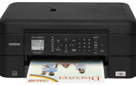 Brother - MFC-J485DW Wireless All-In-One Printer