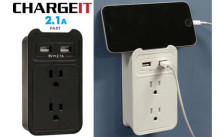 ChargeIt USB Wall Valet