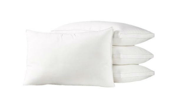 4 Pack Exquisite Hotel Gel Fiber Firm Density Pillow