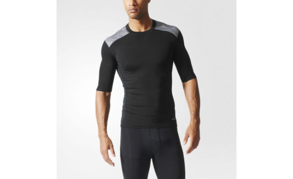 Adidas Techfit Base Tee Men's Black