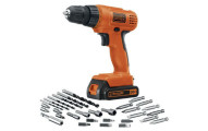 Black & Decker Drill/Driver with 30 Accessories