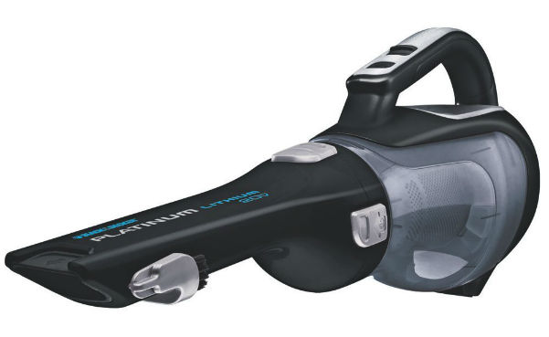 Black + Decker Lithium Ion Battery Cordless Hand Vacuum