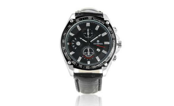 Black Octavius Men's Accelerate Watch