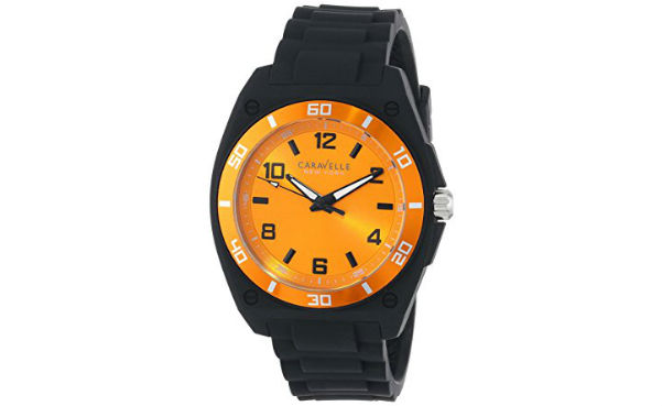 Caravelle New York Men's Analog Display Watch