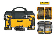 Dewalt Combo Kit with Hammer Drill and Impact Driver