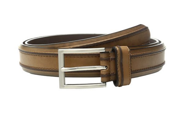 Florsheim Saddle Leather Men's Belt